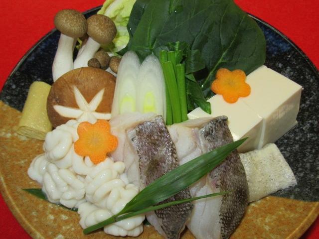 たらと雲子の親子鍋,冬の鍋料理の献立