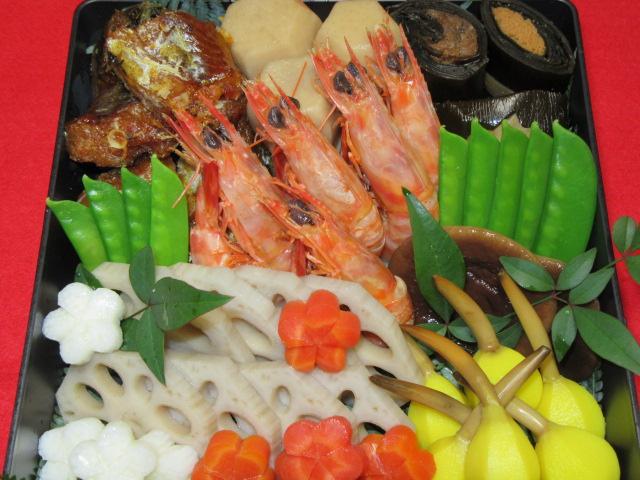 煮しめの献立,おせち料理の三の重,正月の煮物