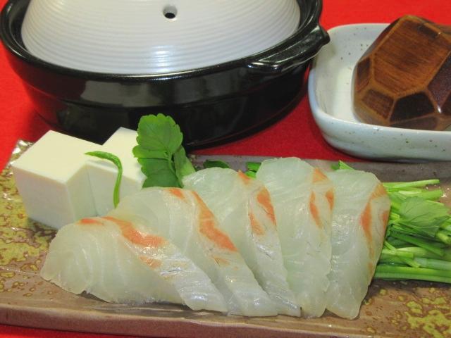 鯛鍋,芹菜,白豆腐,春の鍋物の献立