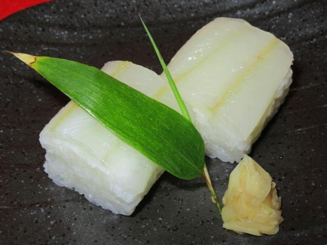 きすの押し寿司,お凌ぎの献立