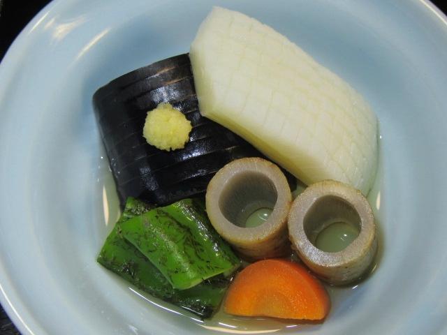 煮物,たき合わせ,夏の松花堂弁当,