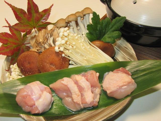 鶏肉きのこ鍋,秋の献立鍋料理