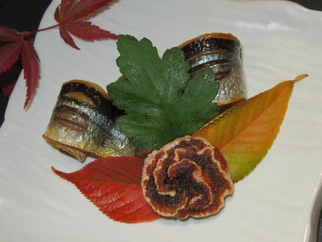 さんまの味噌漬け,秋の焼き物献立