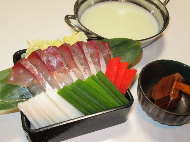 ぶりしゃぶ豆乳鍋,冬の鍋物の献立