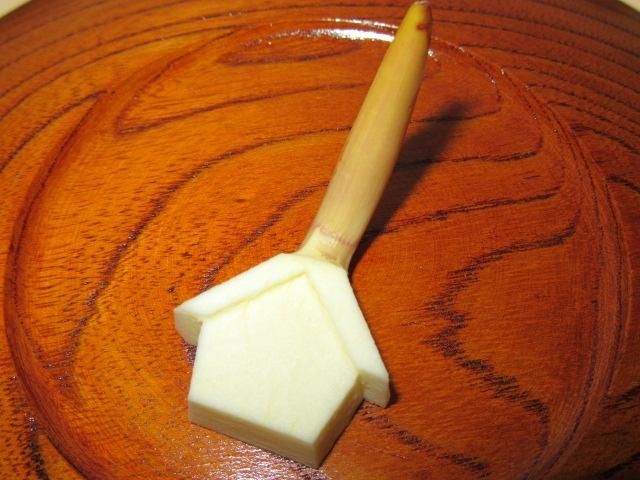 絵馬くわいの切り方,正月とおせち料理の飾り切り