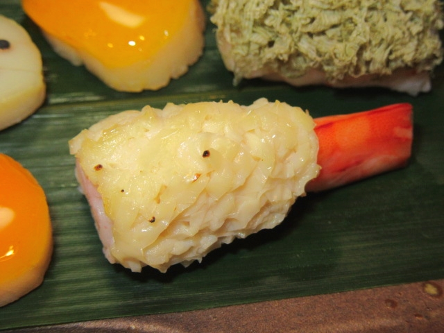 車海老の東寺焼き,湯葉料理の献立