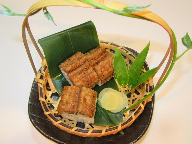 鱧寿司,夏のお凌ぎ,ご飯物の献立