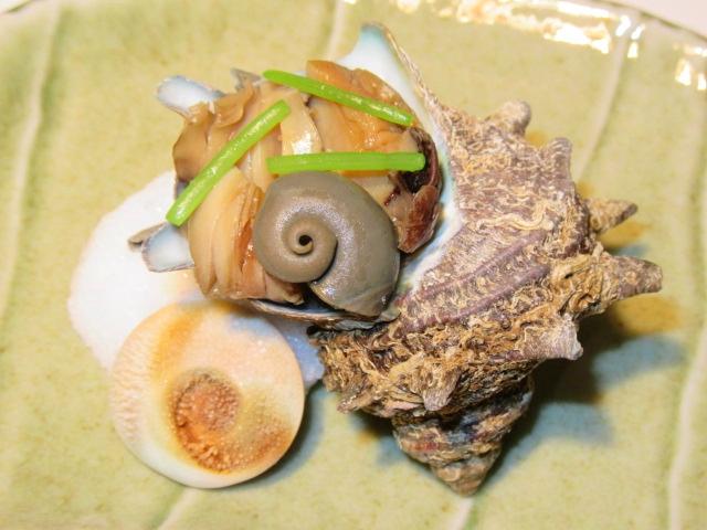 栄螺の壺焼きの作り方,春の焼き物の献立