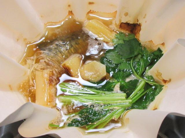焼き塩さばと白ねぎの紙鍋,小鍋仕立ての献立